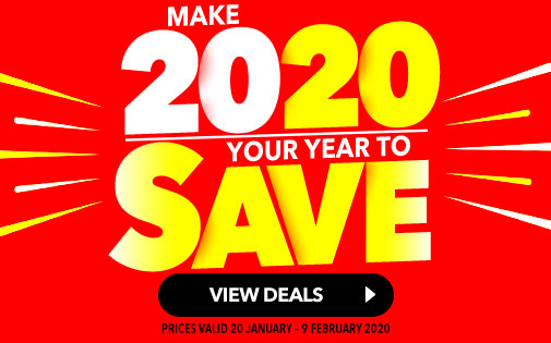 MAKE 2020 YOUR YEAR TO SAVE