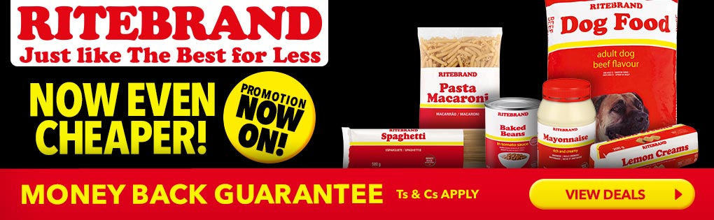 RITEBRAND. JUST LIKE THE BEST FOR LESS.